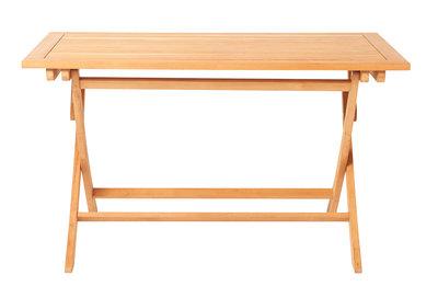 Table pliante en teck ALEXIA