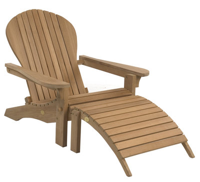 Adirondack Lounger Footstool inclusive