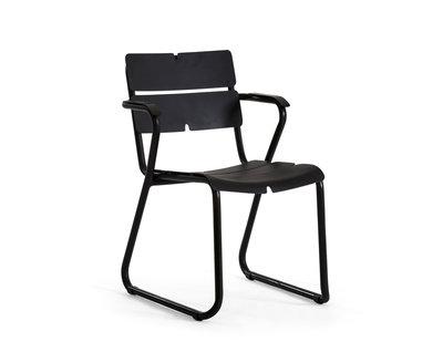 Oasiq Corail Aluminium fauteuil 'anthracite' (Model d'exposition)