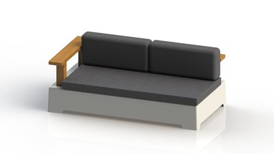 "FixForm ""Roy"" Lounge Left Module - Medium"