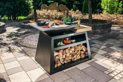 Quan Garden Art Quadro Basic Large Carbon (80 x 80 cm)
