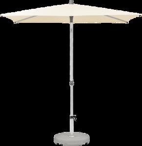 Glatz Alu-twist Easy Parasol 210 x 150 cm